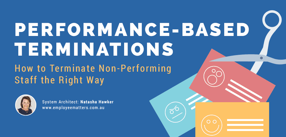 performance-based terminations
