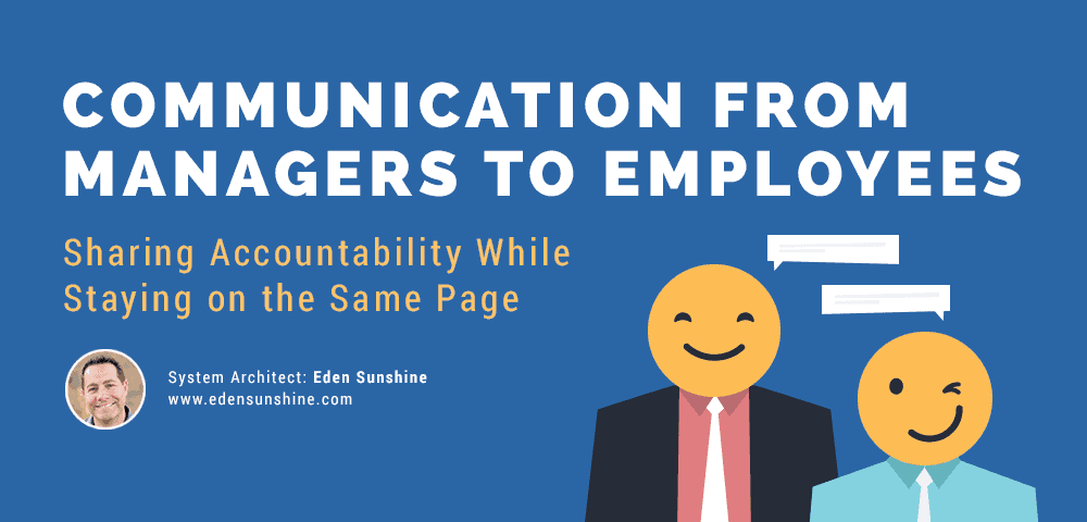 communication from managers to employers