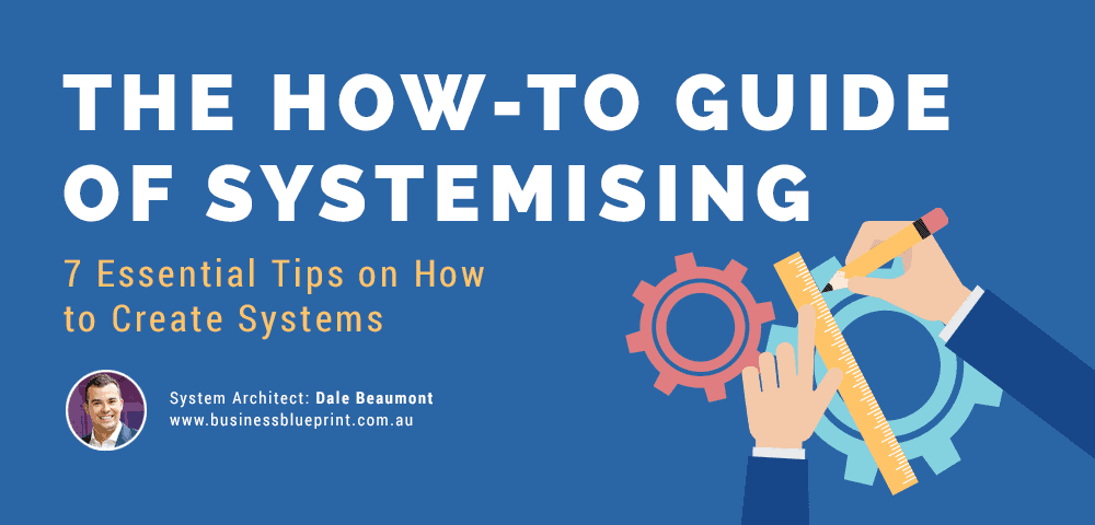 the how-to-guide of systemising