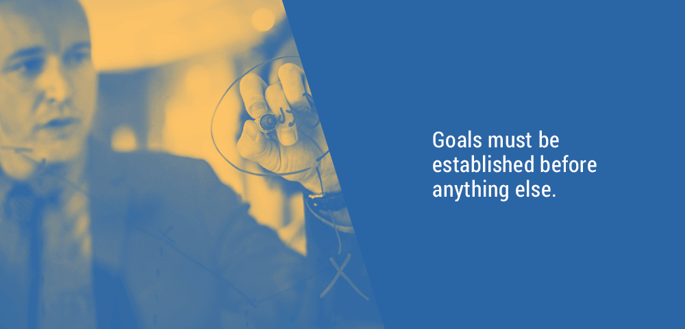 establish goals