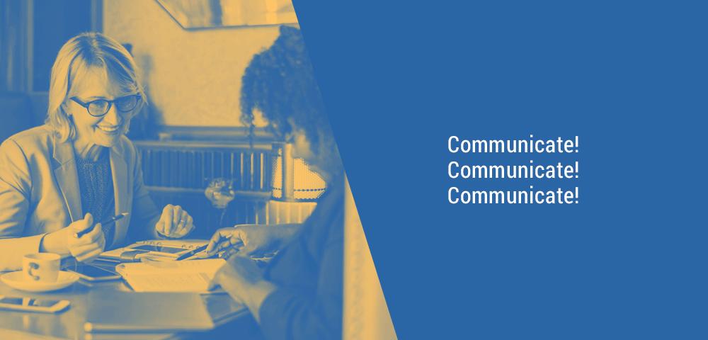 communicate
