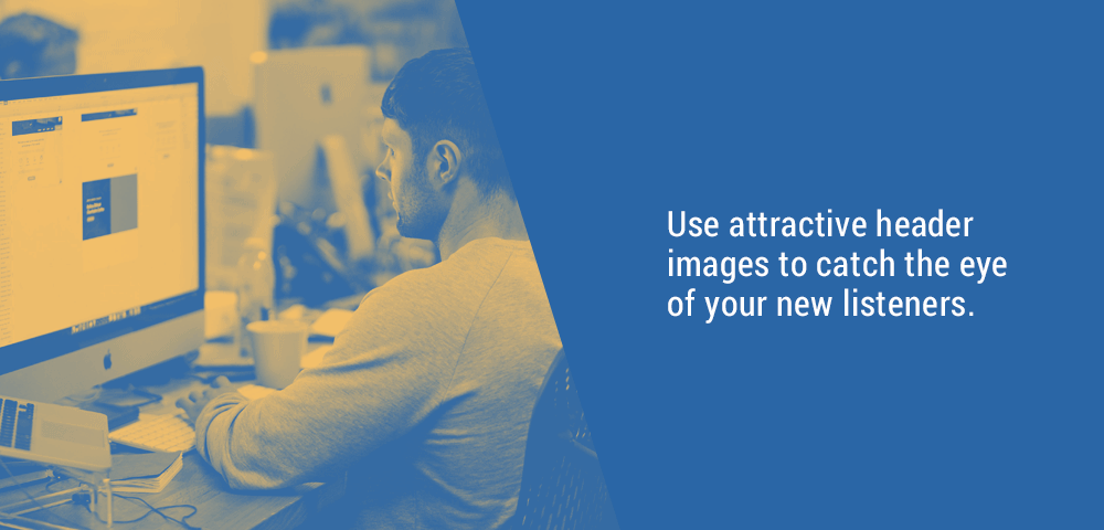 use attractive header images