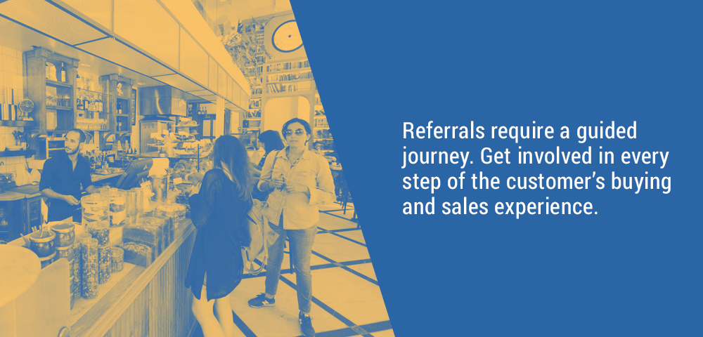 referrals require a guided journey