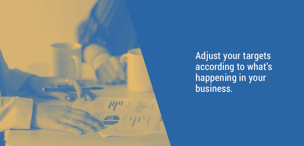 adjust your business targets