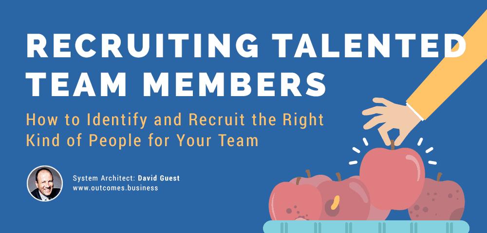 recruiting talented team members