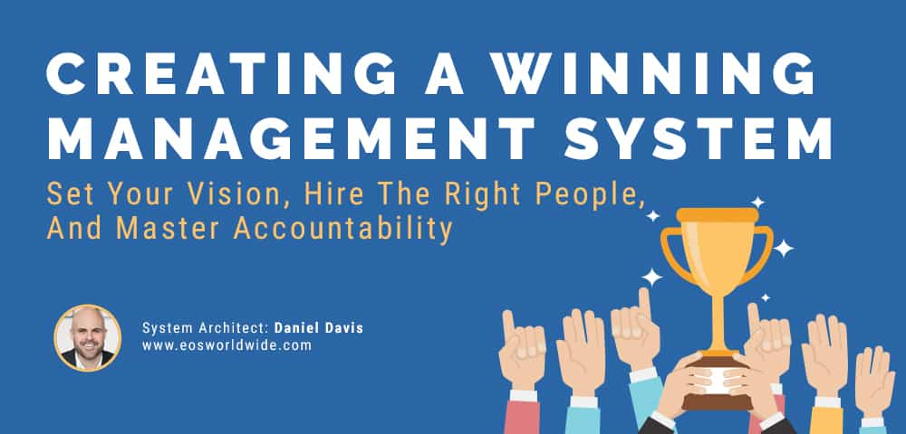 winning management system creation