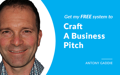EP 02: How To Craft A Business Pitch With Antony Gaddie