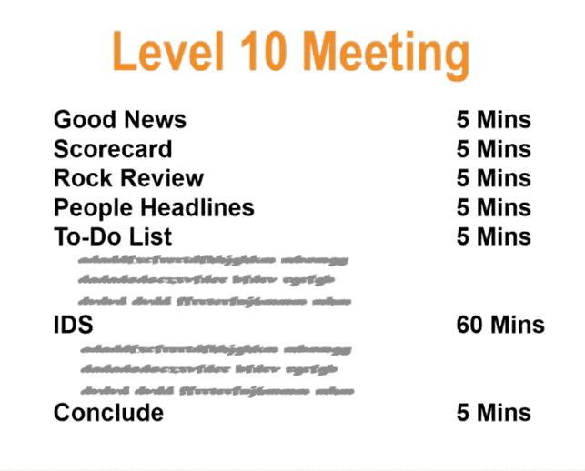 Level 10 Meeting