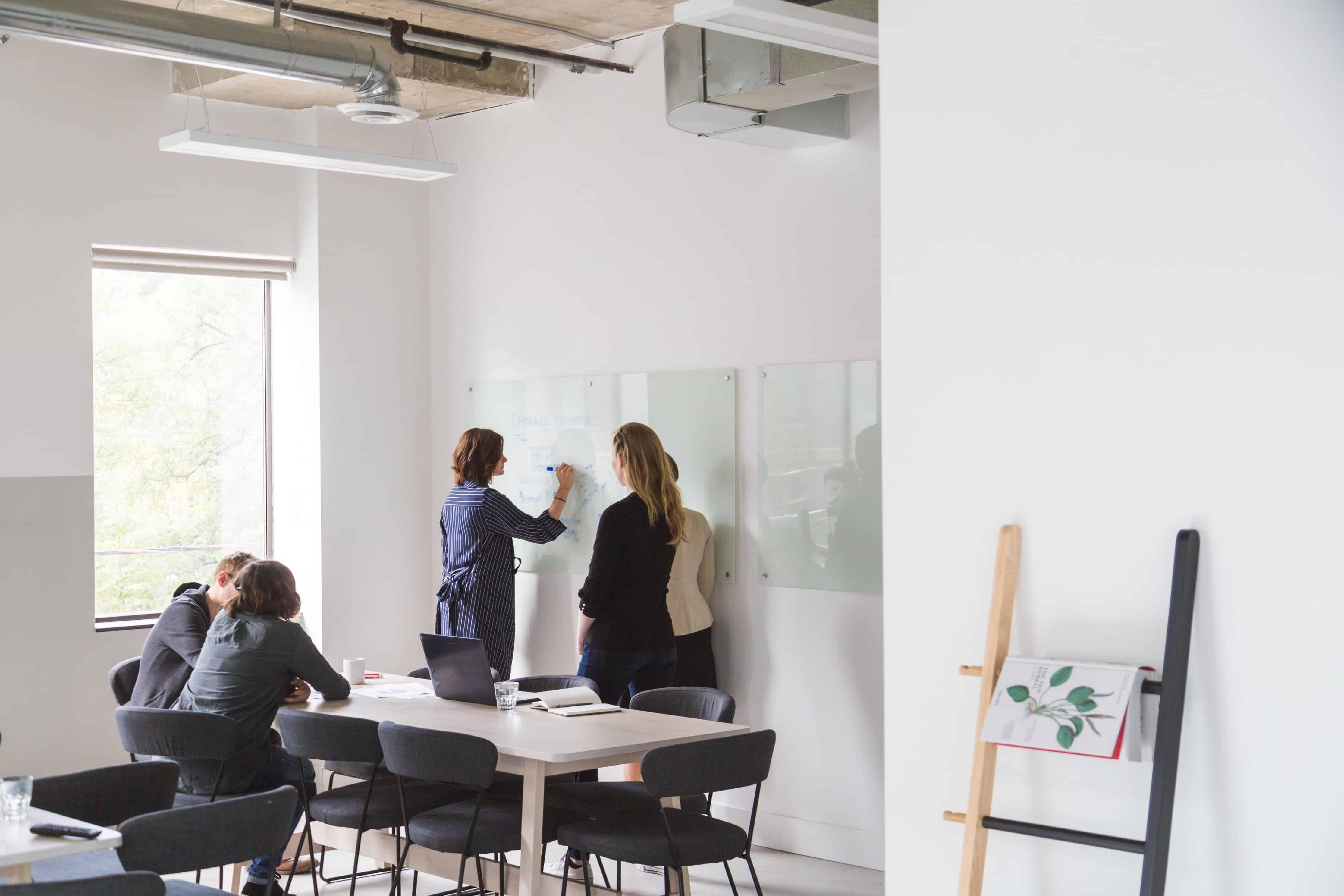 office space brainstorming