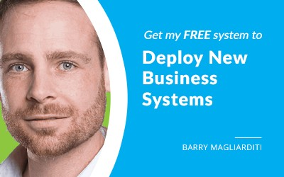 EP 61: The System For Implementing New Systems with Barry Magliarditi