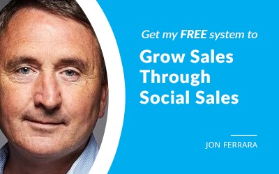 EP 55: The Step-By-Step System To Grow Sales Through Social Content, Conversations & Influence with Jon Ferrara