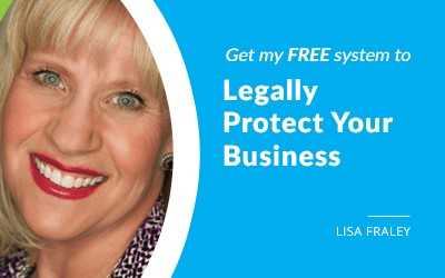 EP 64: 7 Easy Steps to Legally Protect Your Business with Lisa Fraley