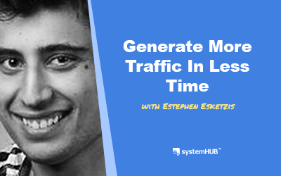 EP 86: The Traffic Machine System – From Zero To 1 Million Visitors with Stephen Esketzis